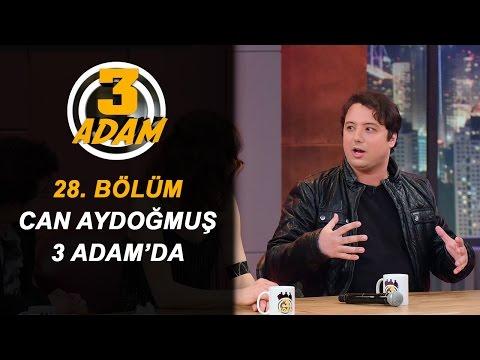 Can Aydoğmuş Kitabını 3 Adam'da Anlattı | 3 Adam