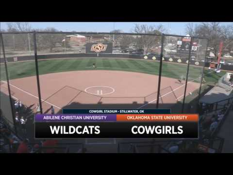 Cowgirl Softball vs. Abilene Christian