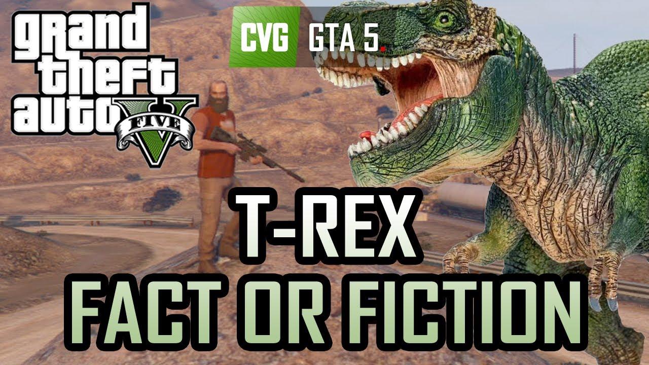 comment voir le t rex dans gta 5