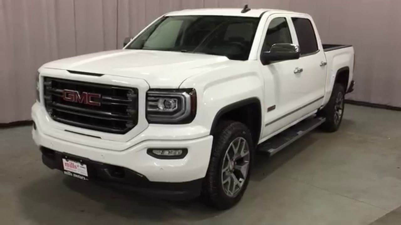 2016 Gmc Sierra 1500 Sle Crew Cab 4wd 6in Running Boards