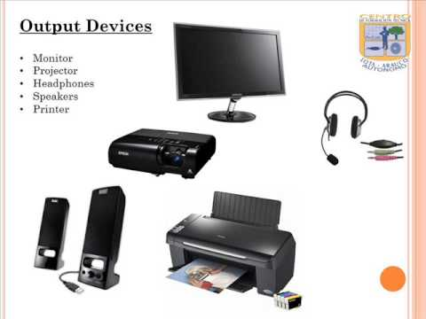 input and output devices youtube
