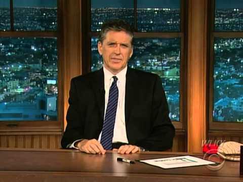 Late Late Show with Craig Ferguson 7/23/2009 Cheryl Hines, Ben Mezrich