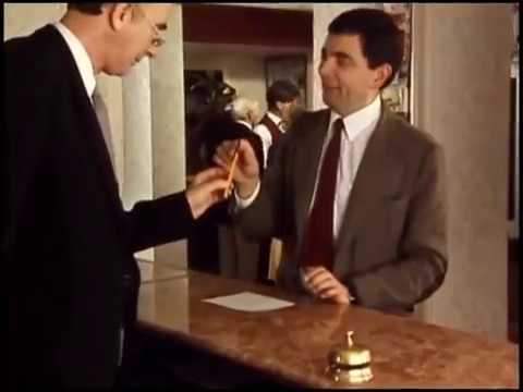 Mr. Bean Giving Tip |Funny clip - Mr. Bean official