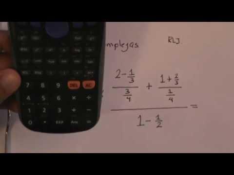 Calculadora de fracciones complejas online dating