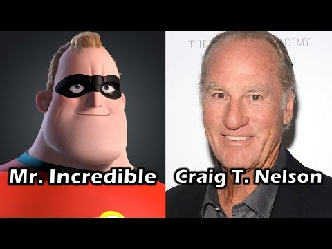 Characters and Voice Actors  The Incredibles