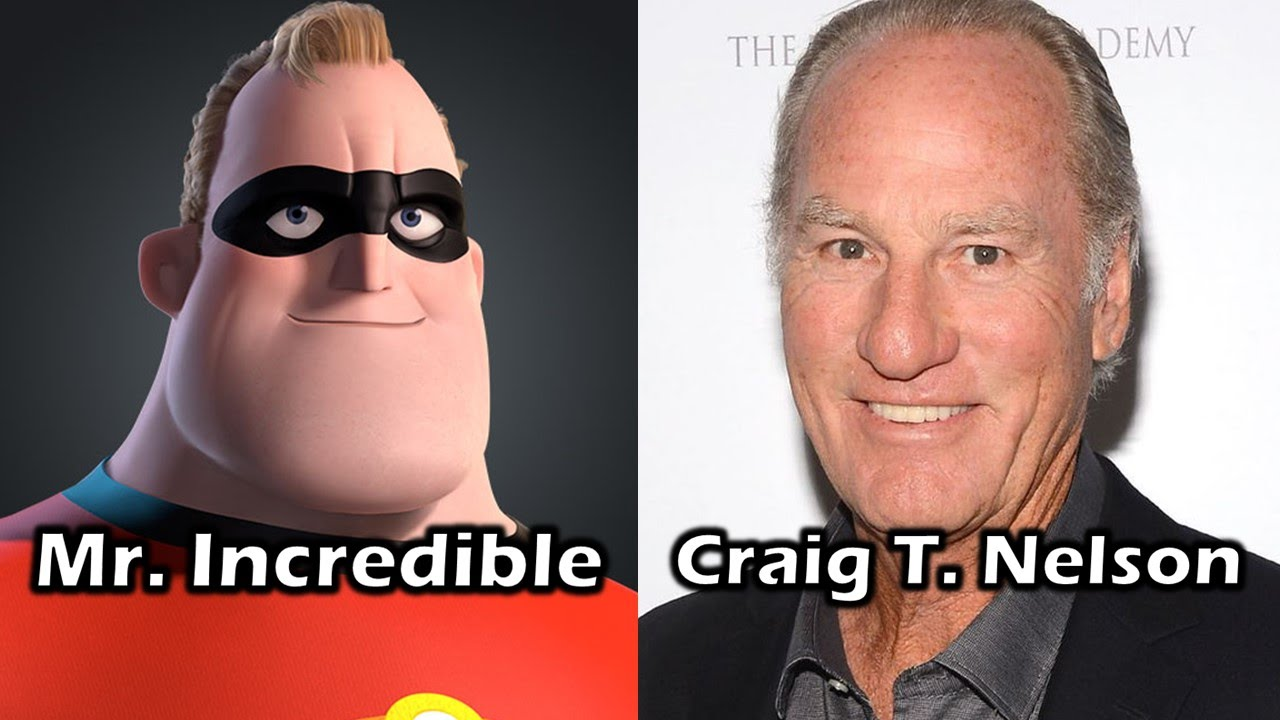Characters and Voice Actors - The Incredibles - YouTube