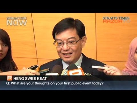 Interview with Education Minister Heng Swee Keat