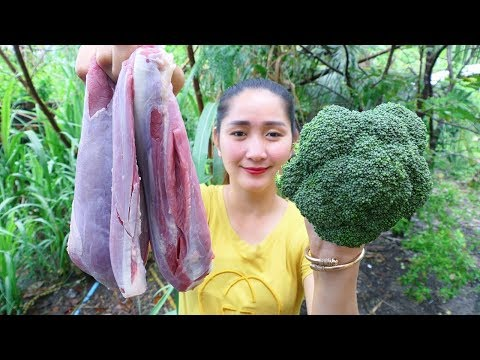 Yummy Beef Stir Fried Broccoli Recipe – Beef Cooking Broccoli – Cooking With Sros