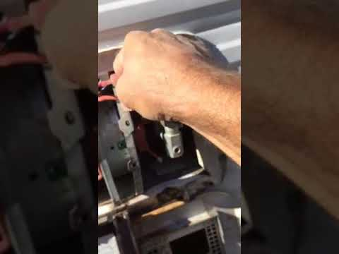Atwood 8525 igniter and gas valve removal.