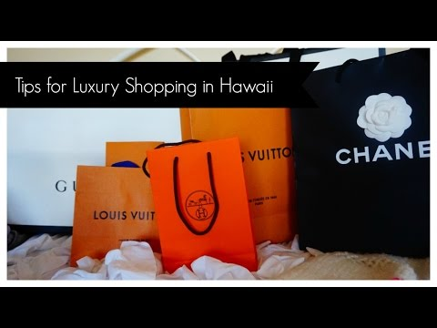 My tips for Luxury Shopping in Hawaii