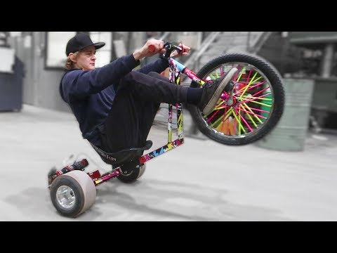 DRILL POWERED DRIFT TRIKE 2