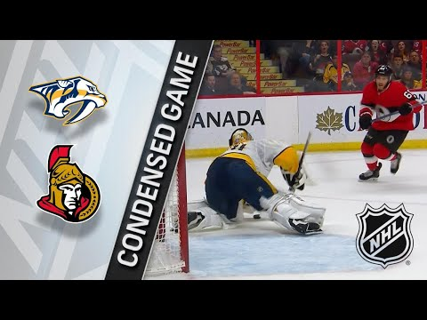 02/08/18 Condensed Game: Predators @ Senators