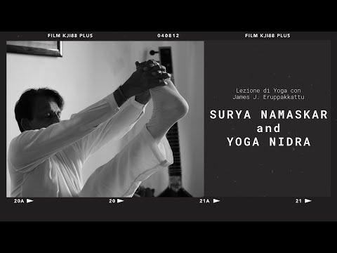 Surya Namaskar E Yoga Nidra Con James J. Eruppakkattu