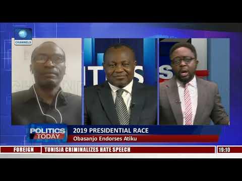 Ononuju, Adigba Debate Implication Of Obasanjo Endorsing Atiku Pt.1  Politics Today 