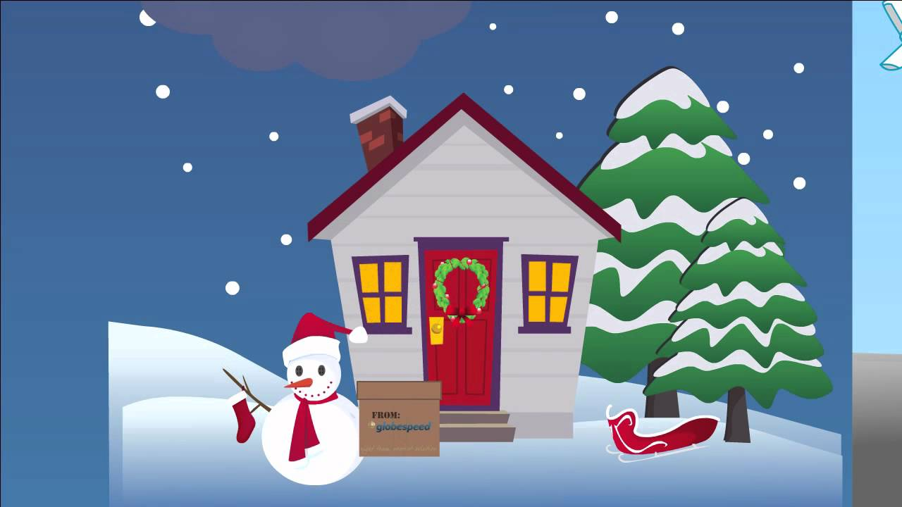 Christmas business greeting by goldfish animation youtube christmas business greeting by goldfish animation kristyandbryce Image collections