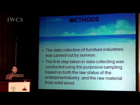 The description of marketing mix at three level furniture industries