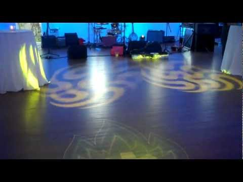 IES provides lighting at Mercury Hall for  Pure Action Yoga SXSW Event