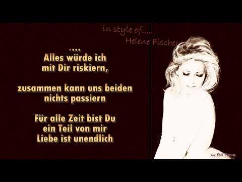 Helene Fischer   - Nur mit dir - Instrumental - Klavier und Streicher