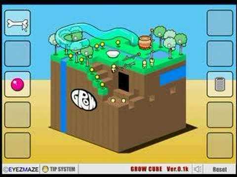 grow cube youtube
