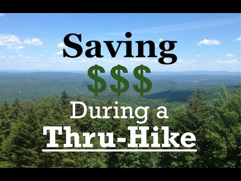 How to Save Money during a Thru-Hike
