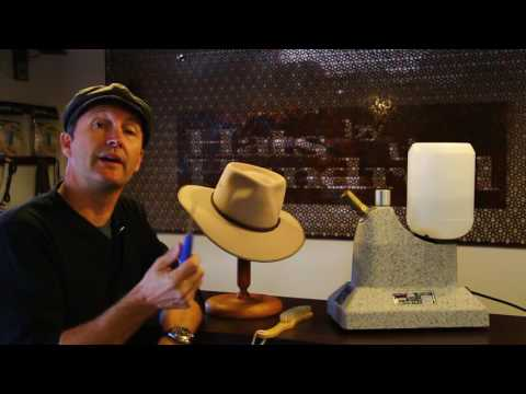 How to remove stains on an Akubra- Tutorial By Hats By The Hundred