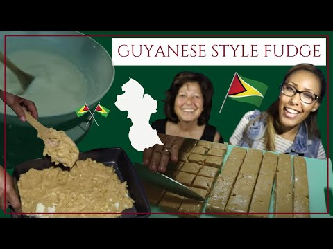 Making Guyanese Fudge With My Aunt