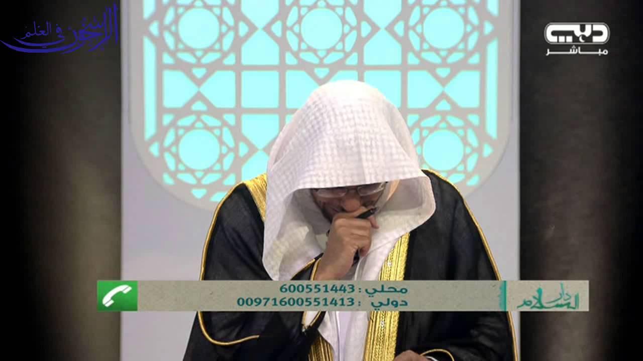 اتصال من العراق يؤثر في :ــ الشيخ صالح المغامسي في أول أيام رمضان1435