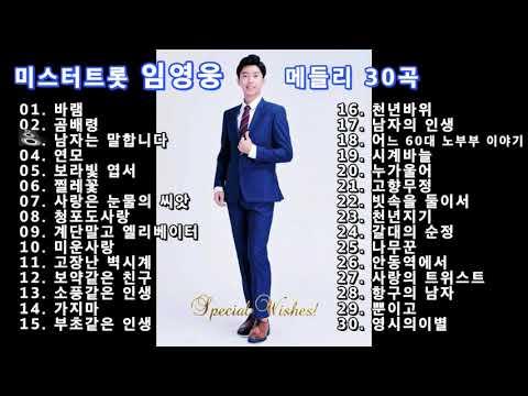 미스터트롯 우승후보 임영웅  올하트 메들리 30곡