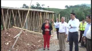Gobernador recorre Las Lajas constatando obras y necesidades