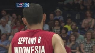 Indonesia v Thailand - Badminton Men