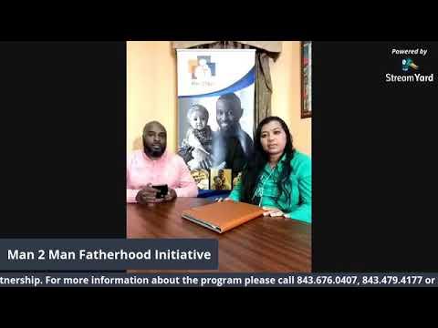 Man 2 Man Fatherhood Initiative SC partners with Northeastern Technical College Pt. 2 (3.10.21)