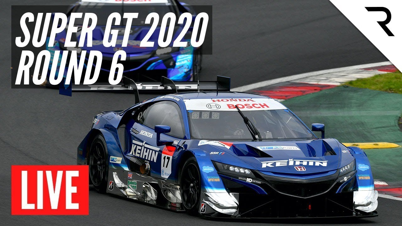 SUPER GT 2020 Round 6 -  LIVE, Full Race, English - Suzuka