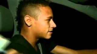 Neymar d Carona ao Pessoal do Globo Esporte SP