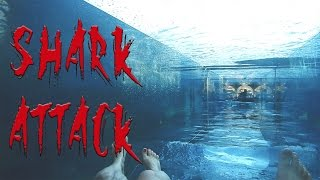 Repeat youtube video Shark Attack waterslide. My AquaVenture Waterpark experience at Atlantis The Palm, Dubai.