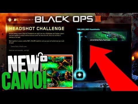 "🔓 SO CLOSE... UNLOCKING *NEW* SECRET CAMO IN BLACK OPS 3! - NEW FREE BO3 DLC ""COSMIC CAMO"" UNLOCKED"