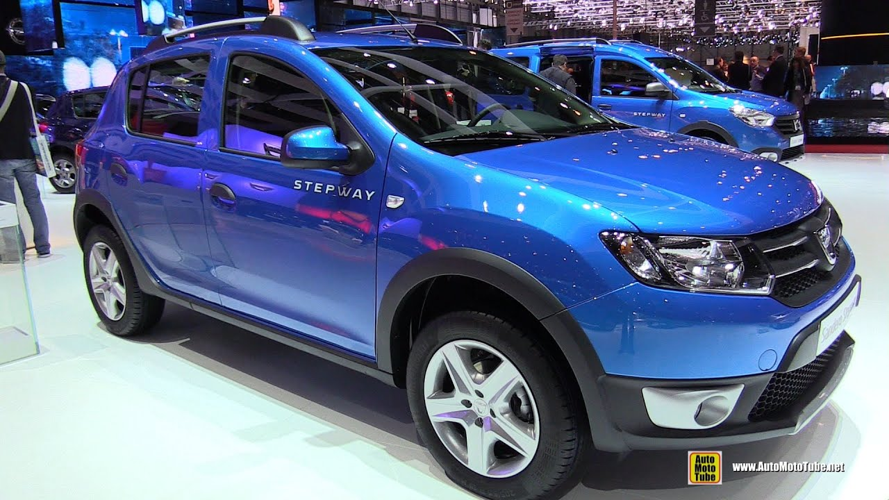 2015 dacia sandero stepway laureate dci 90 diesel walkaround 2015 geneva motor show youtube. Black Bedroom Furniture Sets. Home Design Ideas
