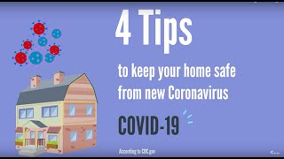 Keeping your home safe during new Coronavirus (COVID-19) outbreak