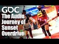 All Style, All Substance: The Audio Journey of the Vanity and Traversal System for Sunset Overdrive