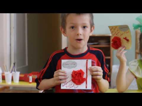 Дети Областного Фтизиатрического санатория читают стихи для ветеранов Победы