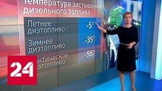 """""""Погода 24"""": 50-градусные морозы и автомобиль"""