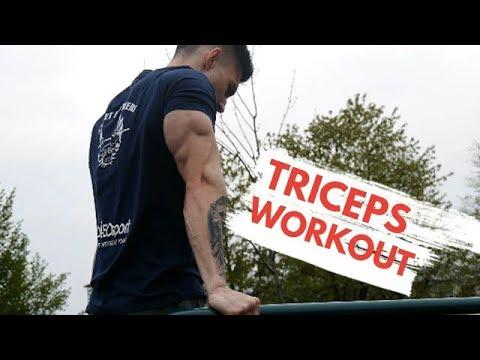 TITANSKI TRICEPS ! Full Triceps Workout - Calisthenics / Street Brothers