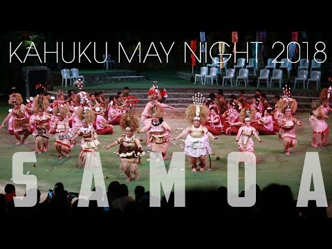 Kahuku May Night 2018 Samoa Section