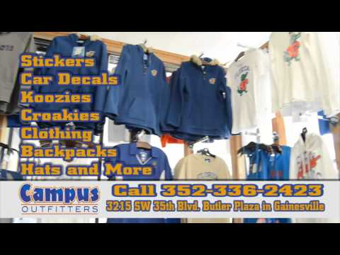 Campus Outfitters Apparel Fashion Clothing Gainesville produced by Post FX Digital Studios