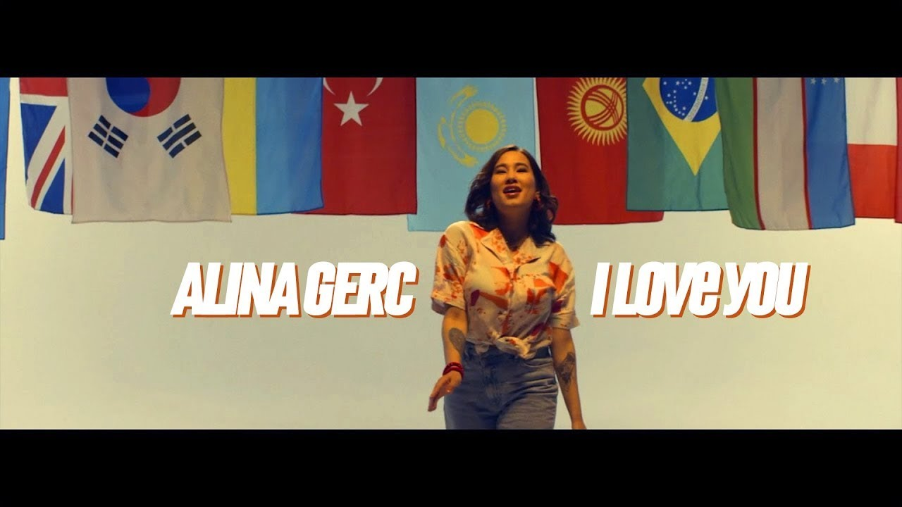 Alina Gerc - I Love You ( I Love You in different languages)