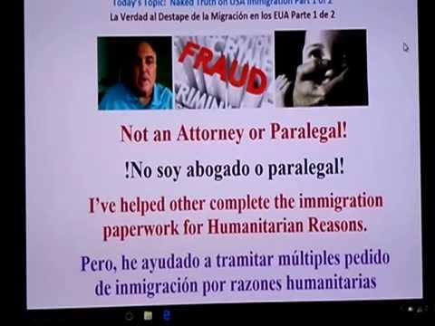 Corruption USA, Immigration Dark Secrets Part 1 of 2