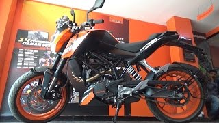 NEW KTM DUKE 200 BS IV WITH AHO WALK AROUND REVIEW