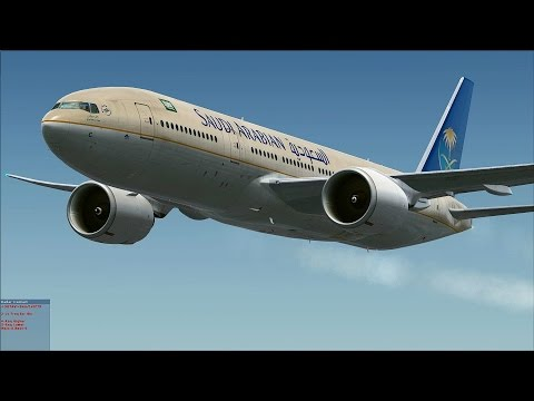 [FSX] Saudia from Cairo to Riyadh