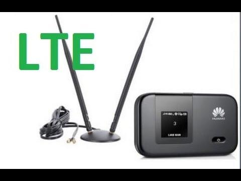 LTE 4G antenna test - Huawei E5372 антенной E3372, E5372