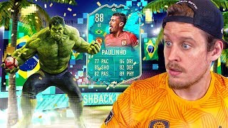 THE FLASHBACK OF DREAMS?! 88 FLASHBACK PAULINHO PLAYER REVIEW! FIFA 20 Ultimate Team