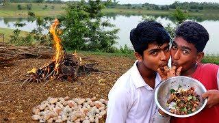 Pora Kathaler Bichi Makha Recipe | Survival Style Wired Jackfruit Seeds and Tamarind Recipe